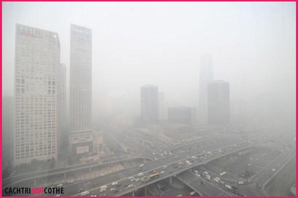 ô nhiễm không khí dẫn đến hôi miệng