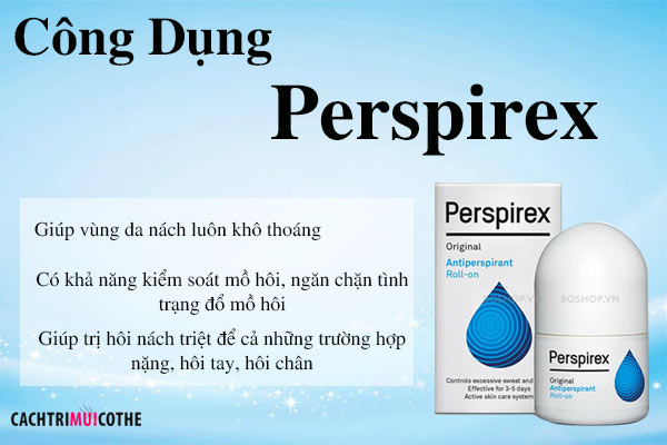 cong dung perspirex