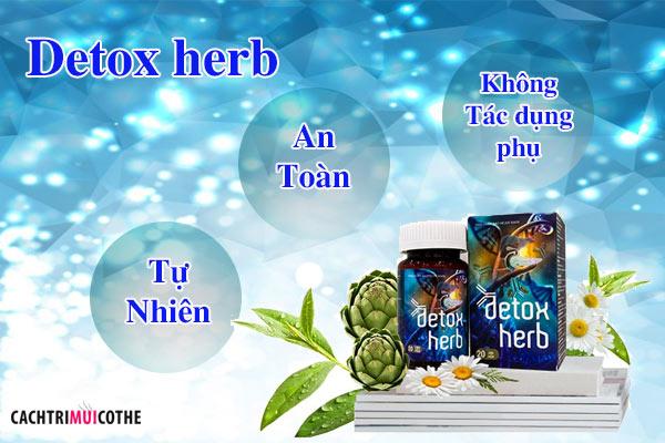 detox herb có tác dụng phụ không