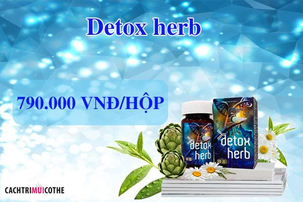 detox herb giá bao nhiêu