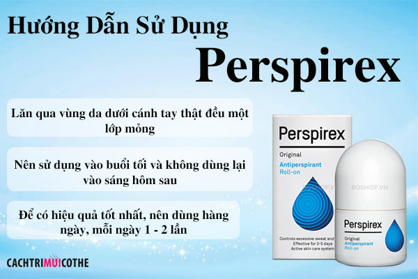 hướng dẫn sử dụng perspirex
