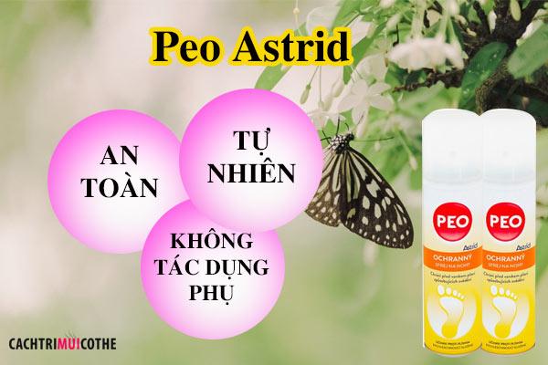 peo astrid có tác dụng phụ không