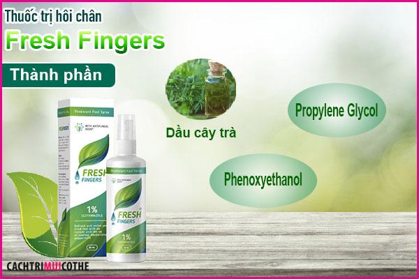 thuốc trị hôi chân fresh fingers